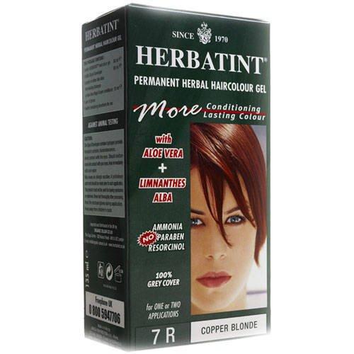 Обзор краска для волос Herbatint с iherb